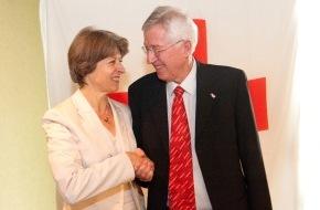 Schweizerisches Rotes Kreuz / Croix-Rouge Suisse: Annemarie Huber-Hotz est la nouvelle présidente de la Croix-Rouge suisse