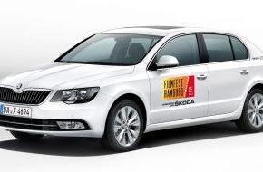 Skoda Auto Deutschland GmbH: SKODA fährt die Stars zum Filmfest Hamburg