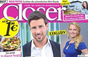 "Bauer Media Group, Closer: Steve Windolf (34) in CLOSER: ""Zu Hause gab es nicht viel Geld"""