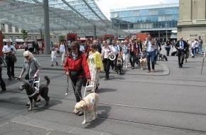 Schweiz. Zentralverein für das Blindenwesen SZB: Les personnes aveugles résistent
