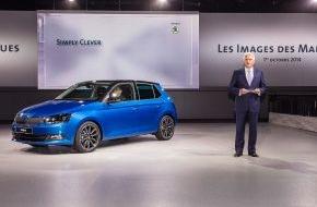 Skoda Auto Deutschland GmbH: SKODA Fabia: Weltpremiere auf der Volkswagen Group Night