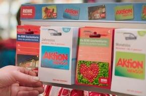 Aktion Mensch: REWE und die Aktion Mensch starten Partnerschaft / Erstmals in Deutschland gibt es Losgutscheine im Supermarkt