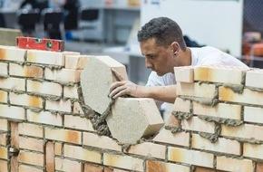 SBV Schweiz. Baumeisterverband: Schweizerischer Baumeisterverband: Maurer Sandro Dörig gewinnt an der Berufs-WM in Brasilien Diplom