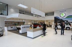 Skoda Auto Deutschland GmbH: Neues SKODA Handelsdesign kommt bei den Kunden hervorragend an