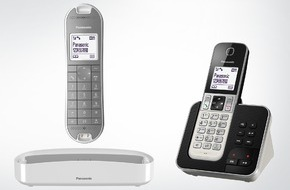 Panasonic Deutschland: Panasonic Schnurlostelefone KX-TGK320 und KX-TGD310/320/322 / Avantgarde Design und starkes Preis-Leistungsverhältnis