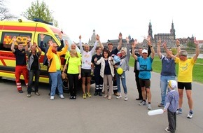 ASB-Bundesverband: Dresden: ASB-Lauf setzt Zeichen für Toleranz und Zuwanderung