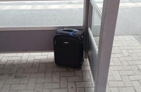 Bundespolizeiinspektion Flensburg: BPOL-FL: Wedel - Koffer auf Bahnsteig löst Polizeieinsatz aus
