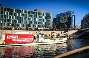 Initiative Neue Soziale Marktwirtschaft (INSM): INSM schickt Grußbotschaft an TTIP-Gegner / Freihandel braucht europäische Mitsprache