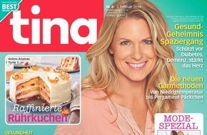 """Bauer Media Group, tina: Harald Krassnitzer in tina: """"Ohne die drei Jahre auf der Couch wäre ich heute sicher nicht so glücklich."""""""