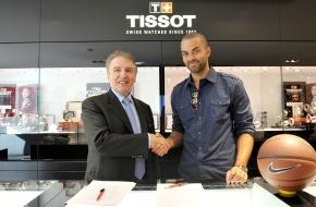 TISSOT S.A.: Tissot nimmt Basketballspieler Tony Parker als globalen Markenbotschafter unter Vertrag