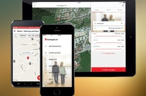 homegate AG: homegate.ch mit neuen Apps - Benutzerfreundlicher, schneller und mit erweiterten Funktionen