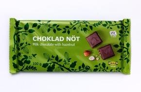 IKEA Deutschland GmbH & Co. KG: IKEA dehnt Rückruf zu Schokolade aus: Sechs weitere Produkte sind für Personen mit Haselnuss- und/oder Mandelallergie oder entsprechender Unverträglichkeit nicht geeignet (FOTO)