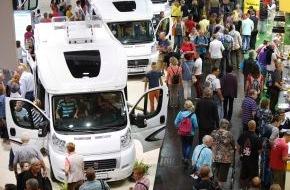 Messe Düsseldorf: Starke Halbzeitbilanz beim Caravan Salon Düsseldorf