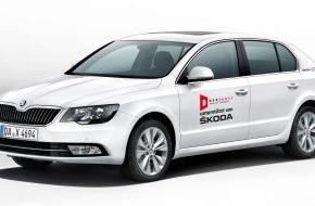 Skoda Auto Deutschland GmbH: SKODA macht Deutschen Theaterpreis 'Der Faust' mobil