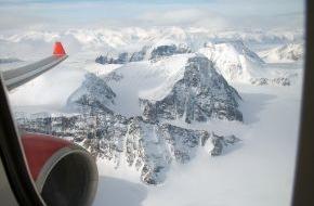 Air Berlin PLC: 90° Nord: Mit airberlin zum nördlichsten Punkt der Erde