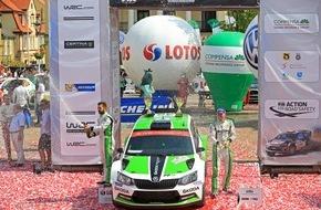 Skoda Auto Deutschland GmbH: 'Formel 1 im Wald': SKODA Fabia R5 bei der schnellsten WM-Rallye des Jahres am Start