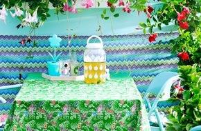 Blumenbüro: Mit Indischem Blumenrohr, Mandevilla und Korallenstrauch wird's farbenfroh / Willkommen im Sommergarten Kunterbunt
