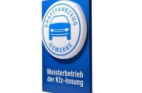 Zentralverband Deutsches Kraftfahrzeuggewerbe: Kfz-Gewerbe erneuert das Meisterschild