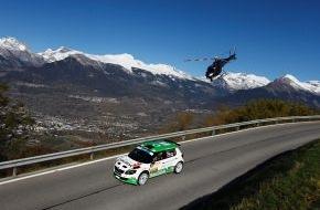 """Skoda Auto Deutschland GmbH: SKODA verteidigt Führung bei der  """"Rallye International du Valais"""" (FOTO)"""