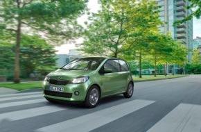 Skoda Auto Deutschland GmbH: SKODA Citigo mit automatisiertem Schaltgetriebe ab sofort auch in besonders sparsamer Green tec-Version erhältlich