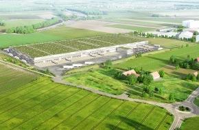 LIDL Schweiz: Lidl Suisse investit 100 millions francs dans sa logistique /  Début des travaux de la deuxième centrale distribution /  Permis de construire valable et rapport d'impact sur l'environnement positif (Image)