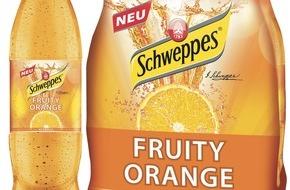 Schweppes: Fruity - Das andere Schweppes / Neue Sorte: Fruity Orange
