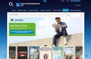 Telefónica Deutschland Holding AG: Leseratten aufgepasst - jetzt gratis testen: Die Skoobe e-Book Flatrate von o2