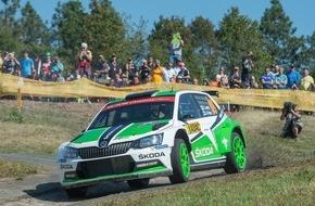 Skoda Auto Deutschland GmbH: Rallye Korsika: SKODA will mit dem Fabia R5 Erfolgsserie in der WRC 2 fortsetzen