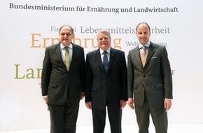 Messe Berlin GmbH: Grüne Woche 2016: Bundespräsident Gauck erstmals auf Grüner Woche