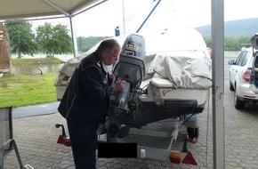 """Wasserschutzpolizeiamt Rheinland-Pfalz: WSPA-RP: """"Gravieren für mehr Sicherheit""""   Aktionstag der Wasserschutzpolizeistation Trier in Konz"""