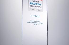 """PrismaLife AG: Focus-Money Versicherungspreis """"Bester Lebensversicherer 2014"""" geht an PrismaLife"""