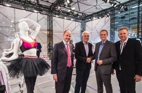 Messe Berlin GmbH: Panorama Berlin: Berlin Regierender Bürgermeister Michael Müller besucht Europas größte Modemesse