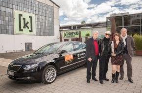 Skoda Auto Deutschland GmbH: SKODA fährt die Stars zum ECHO Jazz 2014