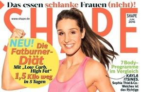 Bauer Media Group, Shape: Jetzt in SHAPE: Fitnessprogramme im Vergleich - halten sie, was sie versprechen?