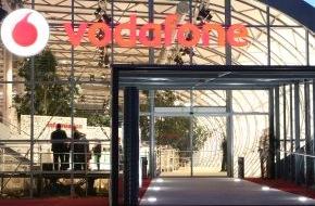 Vodafone GmbH: Vodafone Zentrale, CeBIT-Stand und Shop