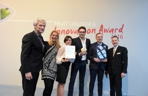 Messe Berlin GmbH: Genuine Coconut aus Spanien gewinnt FRUIT LOGISTICA Innovation Award