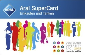 Aral Aktiengesellschaft: Neue Aral SuperCard zum 3. Deutschen Diversity Tag 2015 / Limitierte Sonderedition der Gutscheinkarte an allen Aral Tankstellen erhältlich