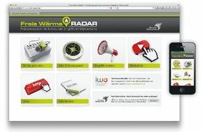 Allianz Freie Wärme: Freie Wärme-Radar jetzt online / Kostenfreie Info- und Serviceangebote für engagierte Bürger / Einfache Anmeldung über www.freie-waerme.de