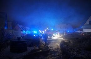 Freiwillige Feuerwehr Menden: FW Menden: Zimmerbrand im Rauherfeld