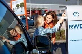 RWE Effizienz GmbH: Elektromobilität: RWE feiert 700.000sten Ladevorgang
