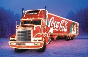Coca-Cola Schweiz GmbH: Coca-Cola: Der legendäre Weihnachtstruck tourt wieder durch die Schweiz