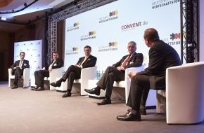 STIEBEL ELTRON: 5. Deutsches Wirtschaftsforum in Frankfurt / Stiebel-Eltron-Geschäftsführer Rudolf Sonnemann fordert deutlichere Signale für die Energiewende