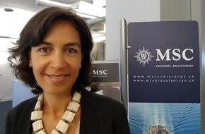 MSC Kreuzfahrten: Wichtiger Neuzugang im Management-Team von MSC Kreuzfahrten / Sylvie Boulant verstärkt unser Team als Country Manager der Schweiz