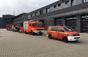 Feuerwehr Mülheim an der Ruhr: FW-MH: MÜLHEIMER EINSATZKRÄFTE ZUR ÜBERÖRTLICHEN HILFE IN DEN KREIS WESEL UNTERWEGS.