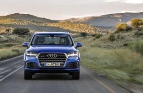 Audi AG: Audi Absatz steigt im Mai um 6,7 Prozent