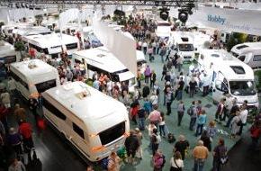 Messe Düsseldorf: Caravan Salon Düsseldorf: Die Nr. 1 Messe für Reisemobile und Caravans