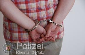 Polizeipräsidium Trier: POL-PPTR: Polizei nimmt mutmaßliche Spielhallenräuber fest