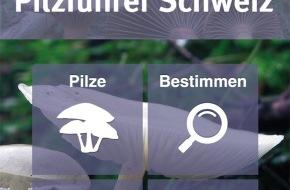 Haupt Verlag AG: Pilzführer Schweiz App / Jetzt neu: App für Schweizer Pilzfreunde im Haupt Verlag erschienen