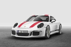 Porsche Schweiz AG: Wolf im Schafspelz - der neue Porsche 911 R