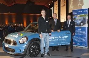 Debrunner Acifer AG: Le Jurassien Jim Leuenberger remporte le Debrunner Acifer Trophy / SwissSkills soutient le Debrunner Acifer Trophy